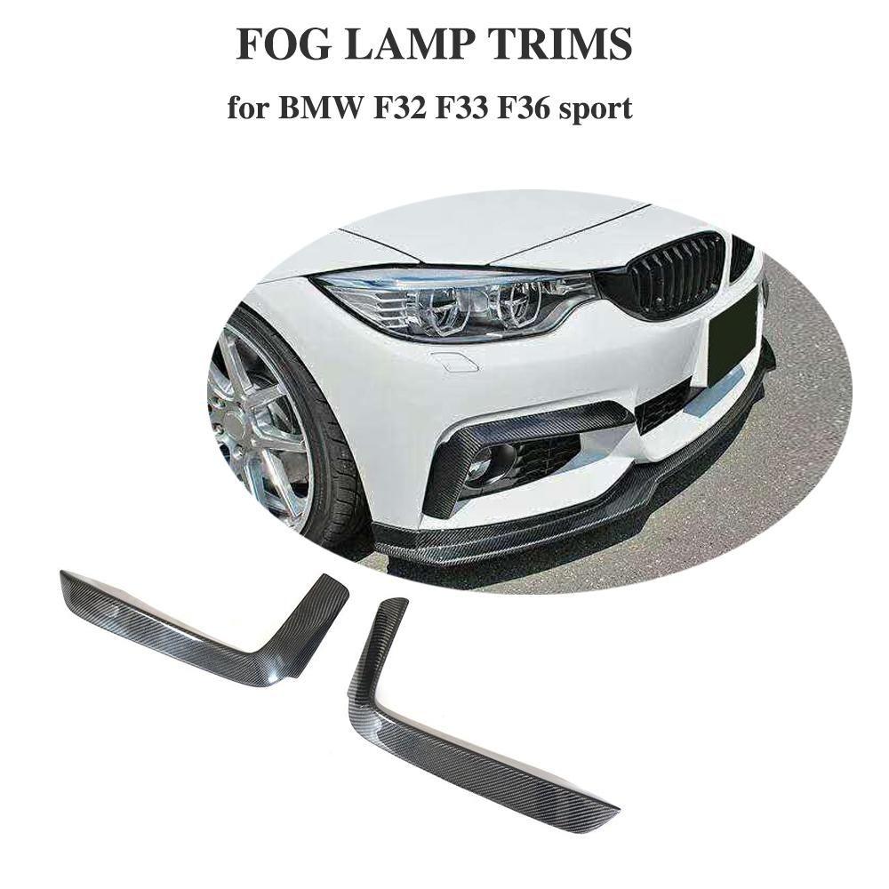 For BMW 4 Series F32 F33 F36 Carbon Fiber Front Bumper