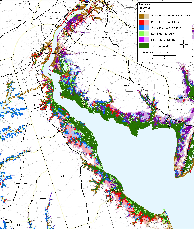 Sea Level Rise Planning Maps Delaware Bay Delaware Pinterest