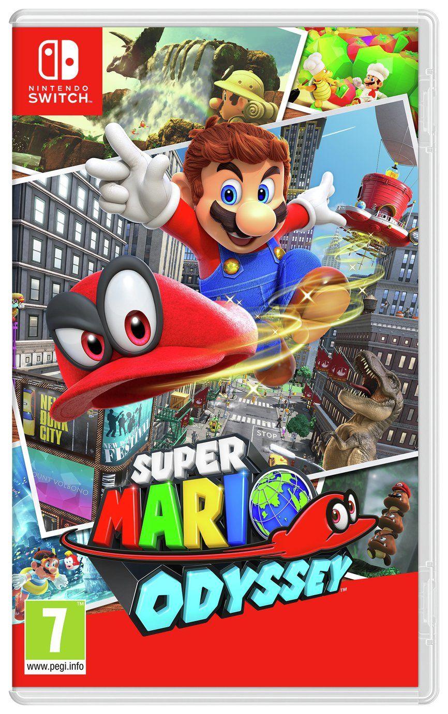 Buy Super Mario Odyssey Nintendo Switch Game Nintendo Switch Games Argos Nintendo Switch Super Mario Nintendo Switch Games Mario Games
