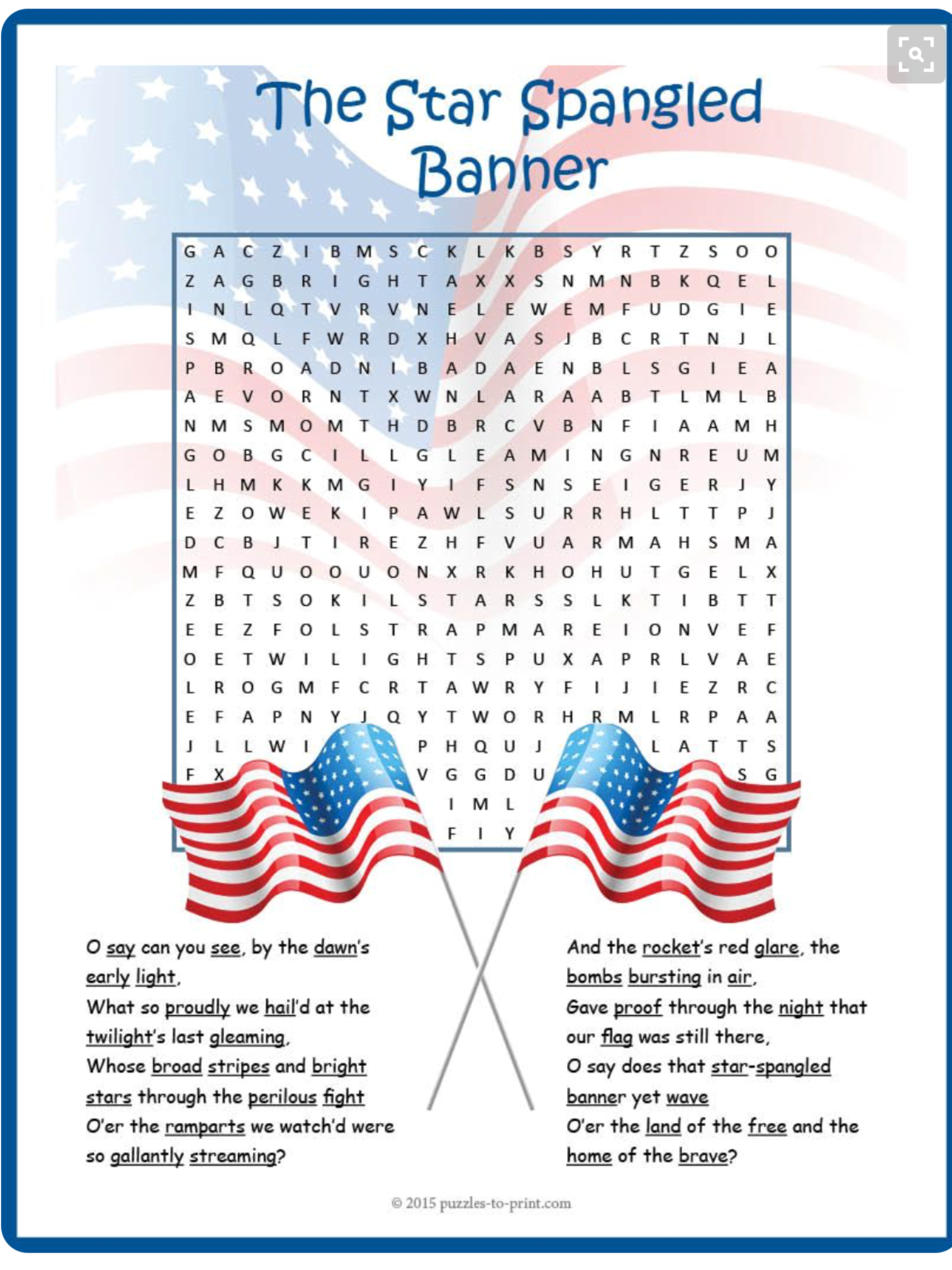 c34a3ad6b Pin by Clarise Brooks on Independence Day | Star spangled banner ...