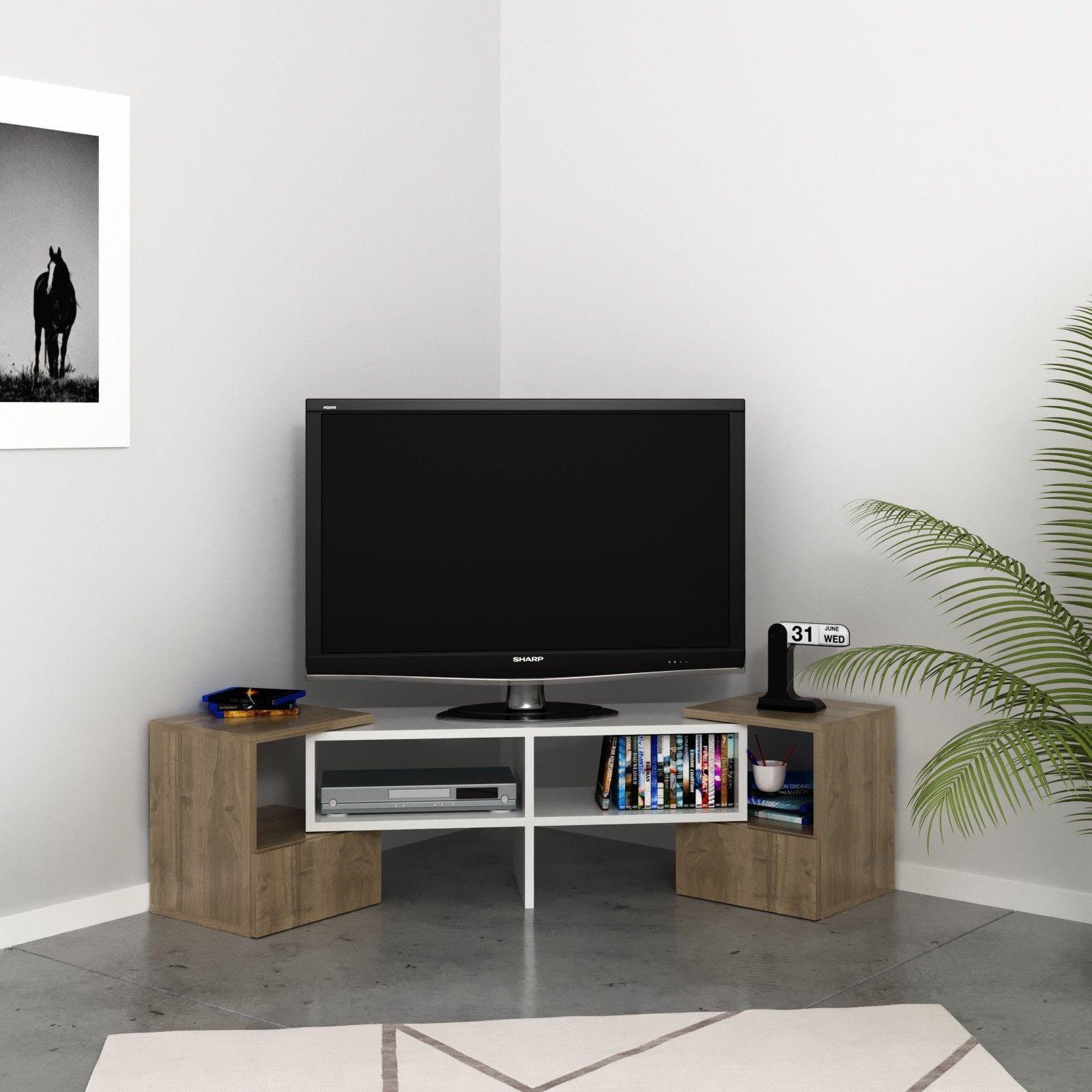 Mobili Porta Tv Ad Angolo Moderni.Mobile Tv Angolare Design Moderno Harrison Hai Un Angolo Di Parete