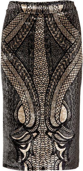 ETRO Velvet Skirt | The House of Beccaria#