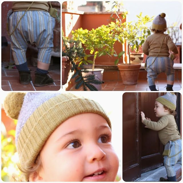 Vittorio's secret - my baby boy's outfit of the day