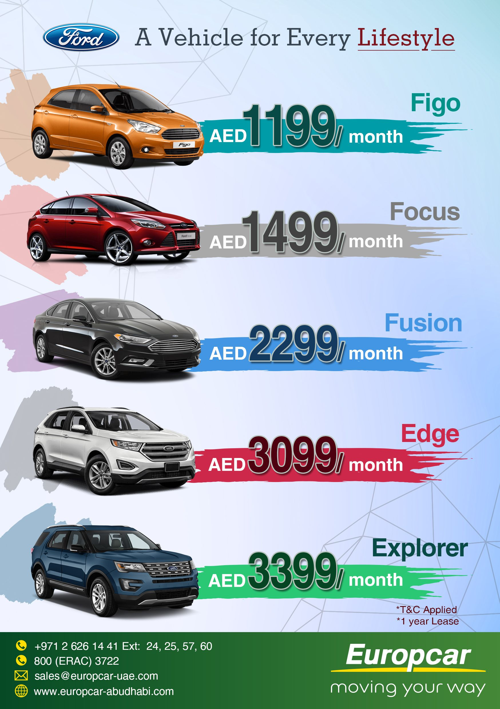 Kickstart Your Summer With Europcar S Exciting Deals Rent A Vehicle That Fits Your Lifestyle With Europcar Abu Dhabi Che How To Apply Rent To Own Homes Lease