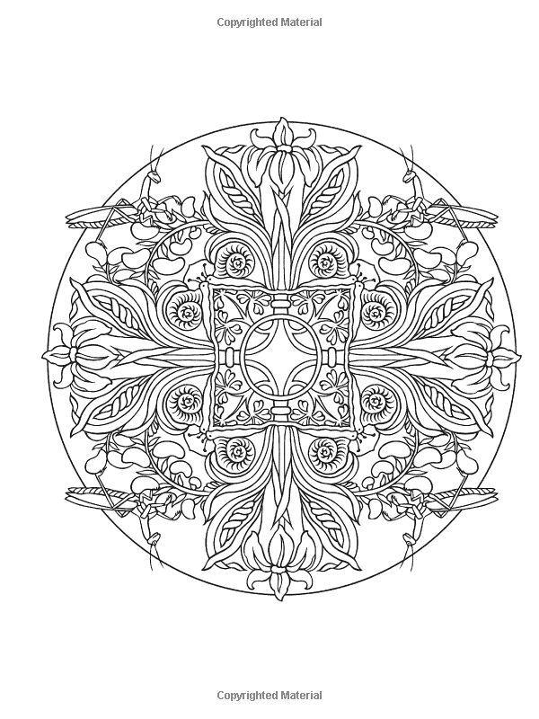 Dover Mystical Mandalas Coloring Books   Creative Haven MANDALAS Coloring Book: Deluxe Edition 4 books in 1 ...