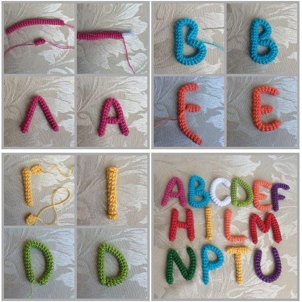 Alfabeto A Uncinetto Tutorial About Crochet Crochet
