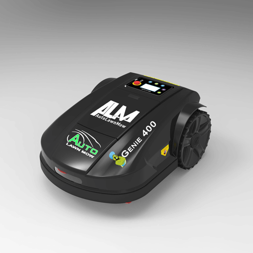 The New 1 C Acre Genie 400 Automatic Garden Lawn Mower From Autolawnmow Com Lawn Mower Automatic Lawn Mower Robotic Lawn Mower