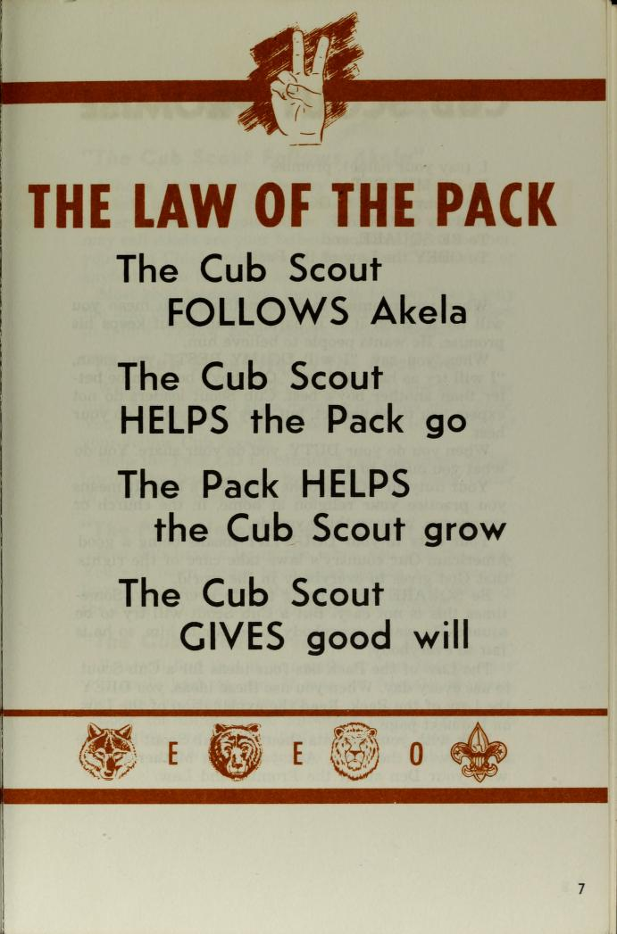 Lion Webelos Cub Scout book : Boy Scouts of America : Free Download, Borrow, and Streaming : Internet Archive