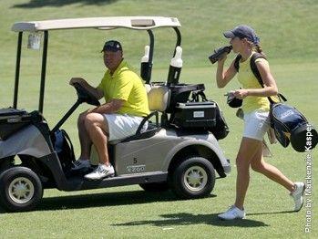 NAU's Bedortha Named Golf Coach of the Year