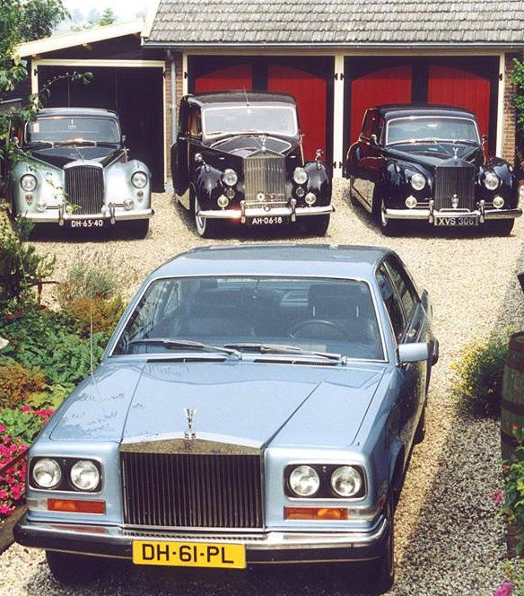 2002 Bentley State Limousine: Rolls-Royce Camarque Chassis JRF31233 (1977)