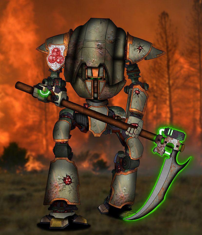 Cerastus Scythe-Knight of Nurgle -Pestbringer- by Empyronaut