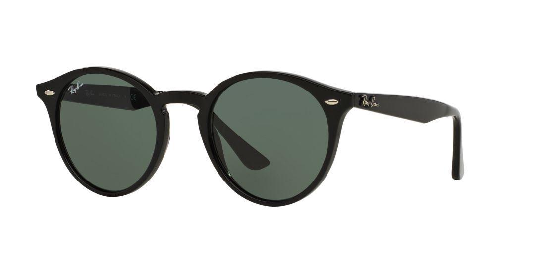 d370e9cf5e2 Ray-Ban RB2180 ROUND 49 Grey   Black Sunglasses