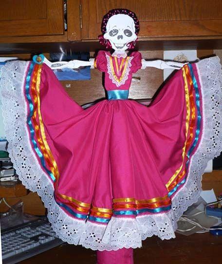 Ideas Para Vestir A Tu Calavera Vestidos De Calaveras