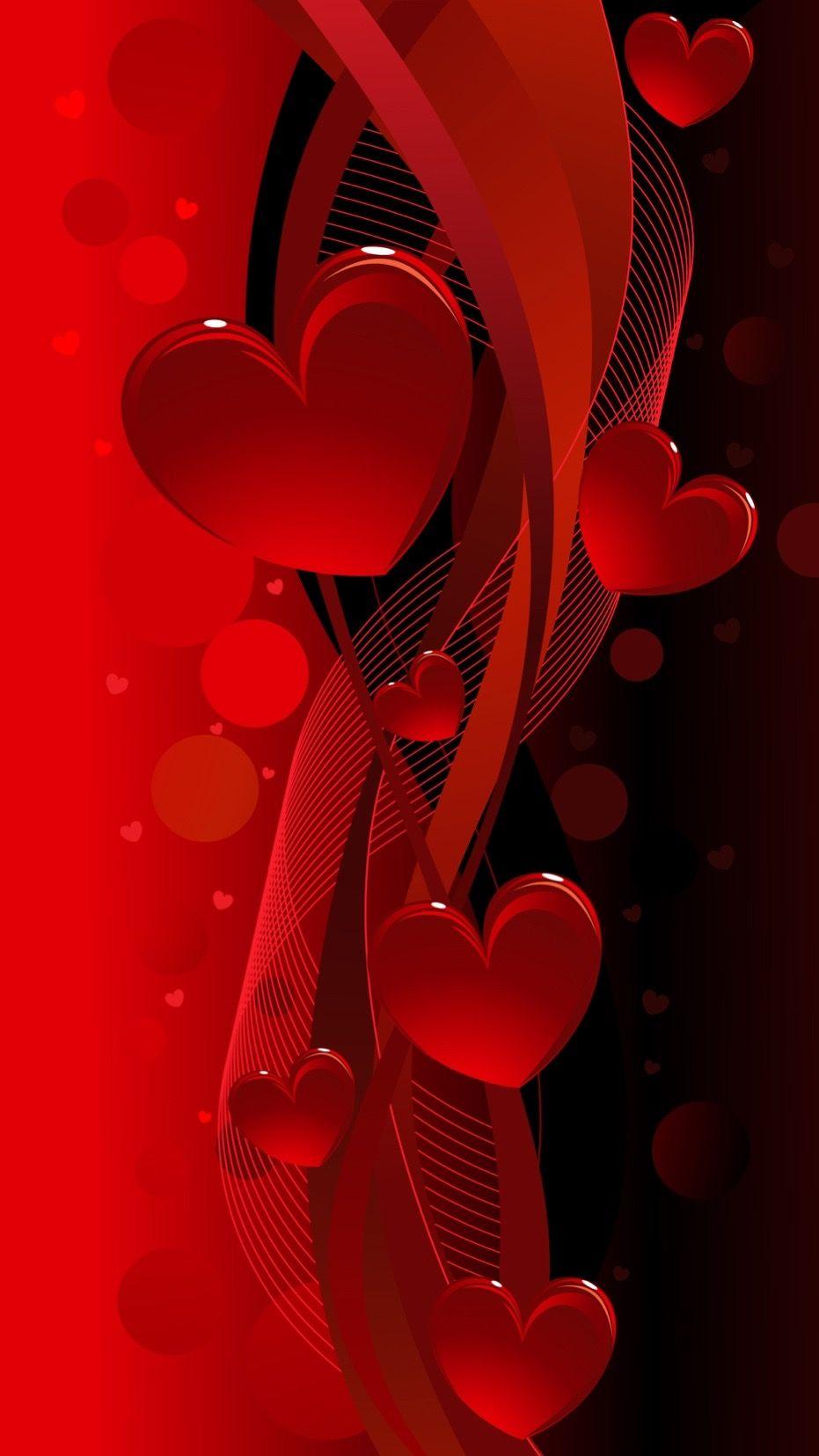 Rote Herzen Meine Lieblingsfarbe Daizo Und Janna Love Wallpaper Heart Wallpaper Valentines Wallpaper