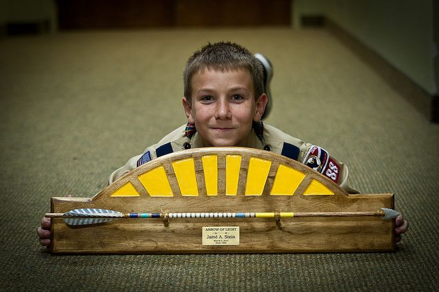 cub scout award display | ... gift for our Webelos that are going into Boy Scouts