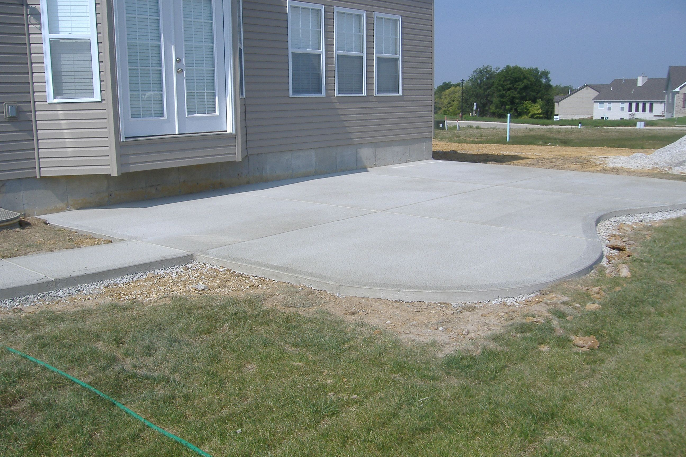 outdoor living concrete patios poured concrete concrete patio designs