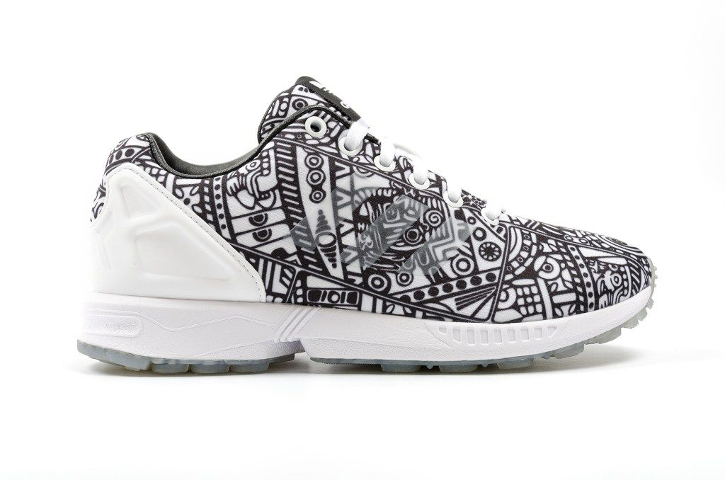 65499edfd Italia Independent x adidas ZX Flux Collection Brings Vivid Prints to Your  Workout