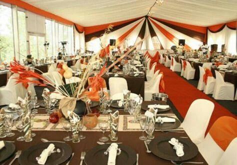 Traditional Wedding Table Setting