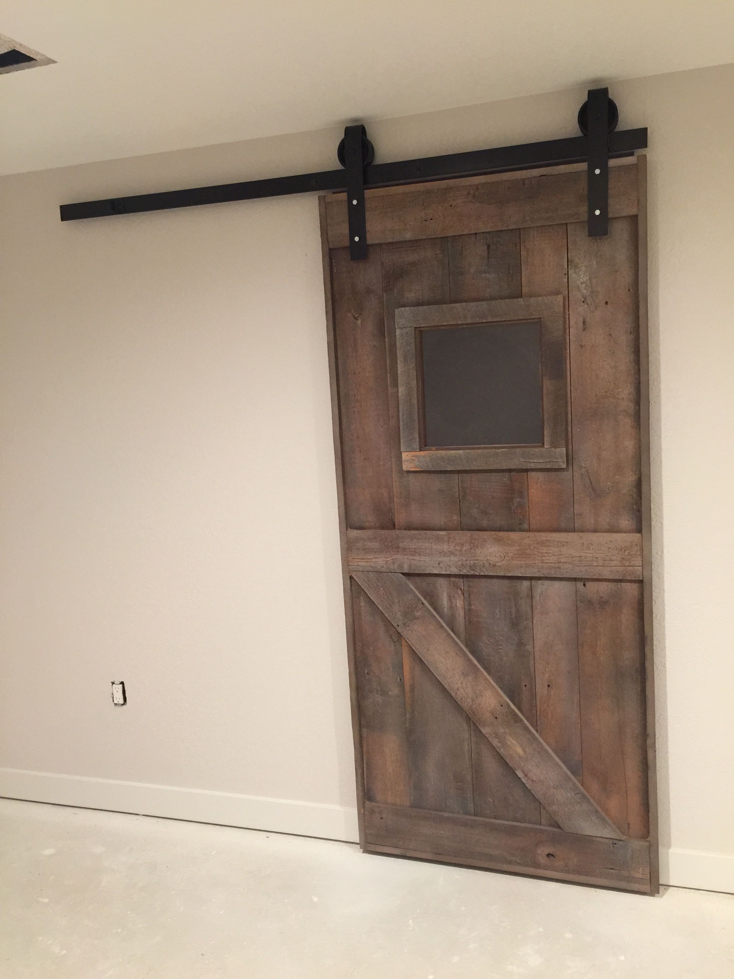 Speakeasy Sliding Barn Door With Traditional Hardware Barn Door Sliding Barn Door Sliding Barn Door Hardware