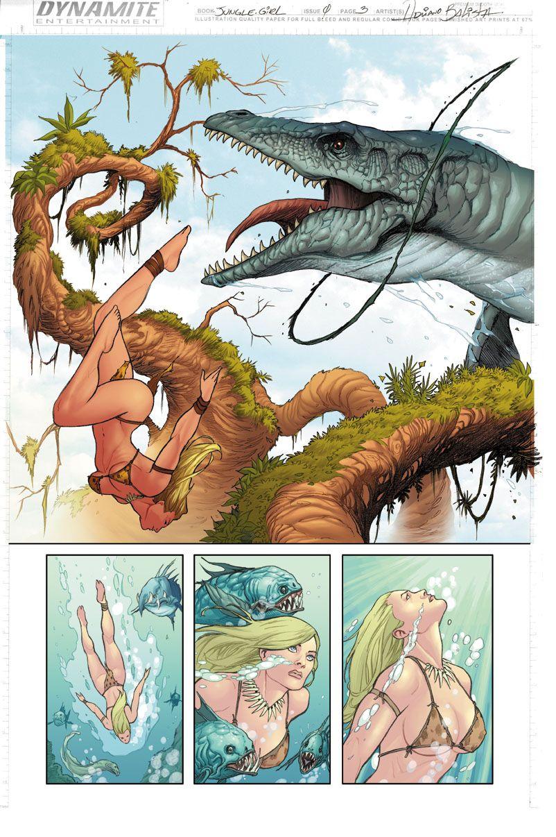 Deviation 61-Jungle Girl by FrankDa