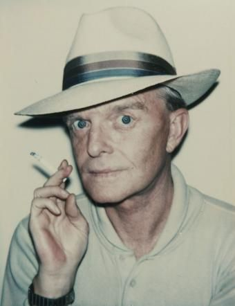 Truman Capote by Andy Warhol