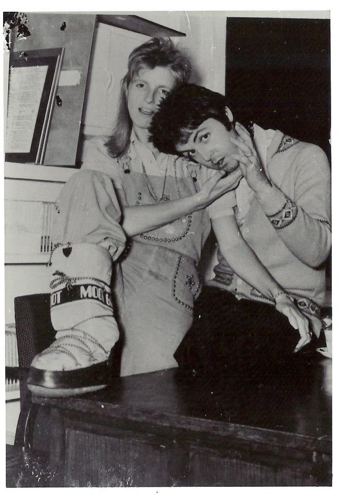 Paul \u0026 Linda McCartney en moon boots