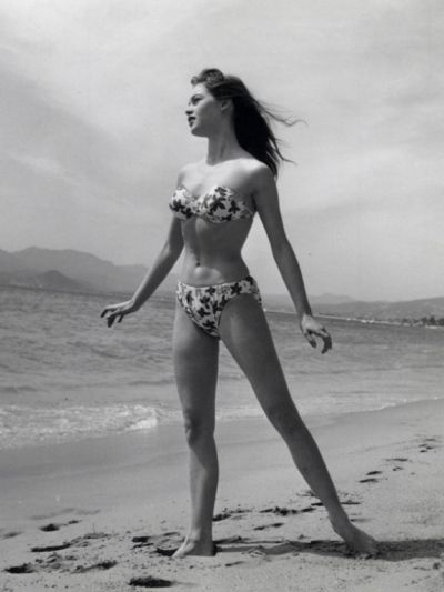 1953-french-model-and-actress-brigitte-bardot. This Day in History: Jul 5, 1946: The Bikini is introduced