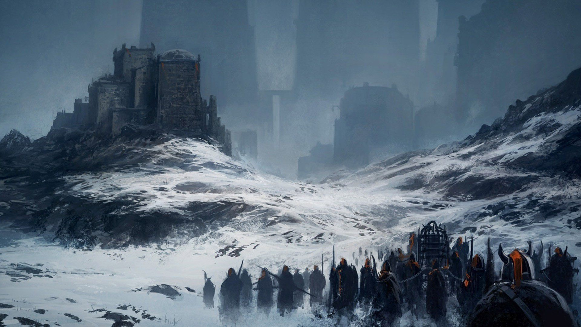 Image Result For Winter Fantasy Gritty Fantasy Landscape Art Station Winter Mountain