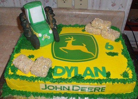 John Deere Birthday Cake Kids Birthday Parties CAKES MAKE THE
