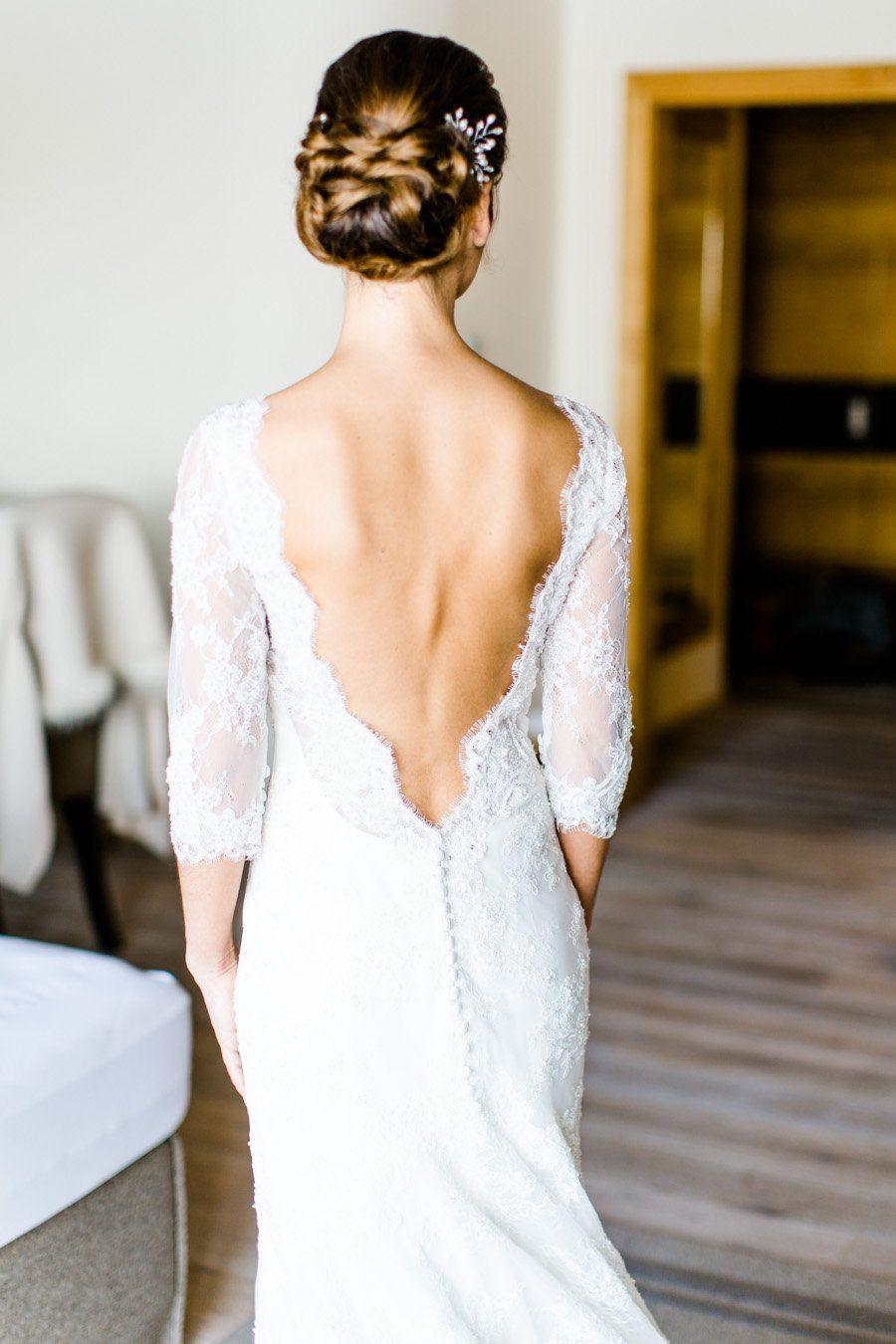 Hochzeit im ICE Q in Sölden  Hochzeitskleid spitze, Kleid