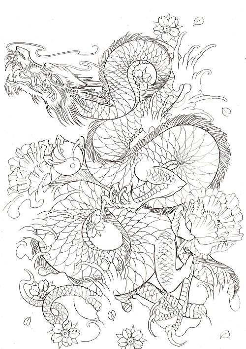 Blackbirdinkhouse Japanese Dragon Tattoos Japanese Dragon Tattoo Japanese Tattoo