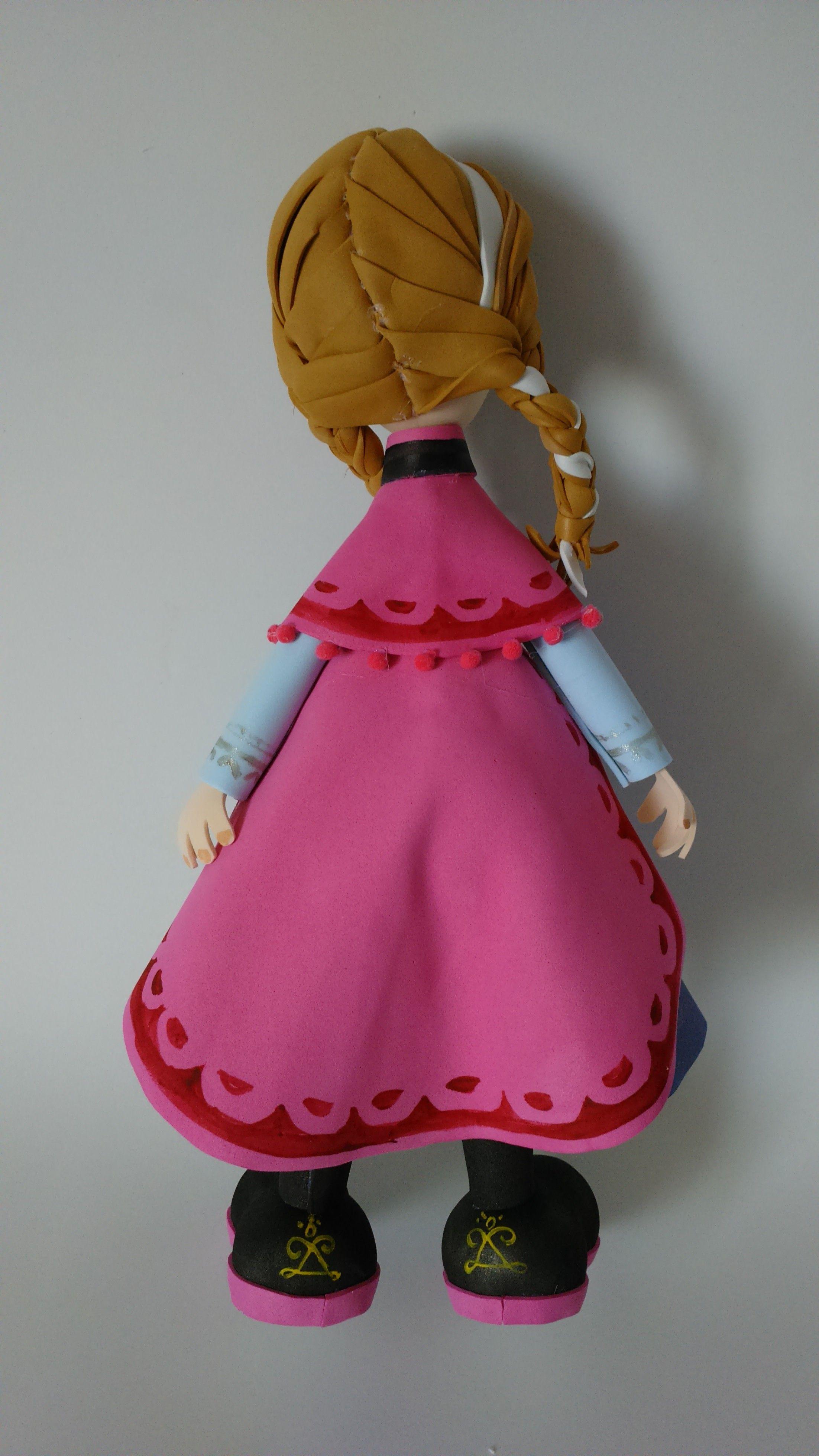 princesa Ana es una pieza central de 28 cm. aprox. | Fofuchas ...