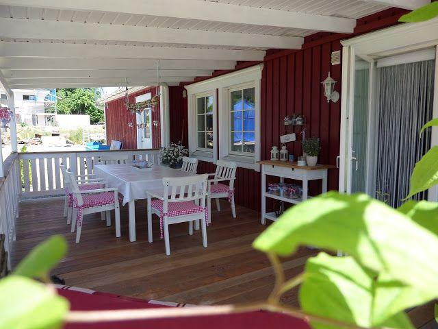 Schwedenhaus mit veranda  Kleine Lotta ~ Unser Schwedenhaus | Häuser | Pinterest ...