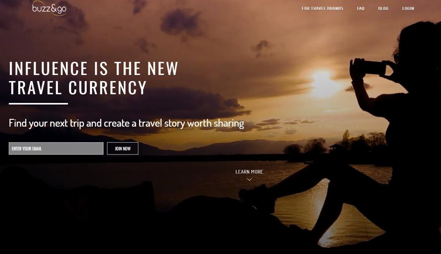 Plataforma que conecta influencers mundiales con empresas turísticas