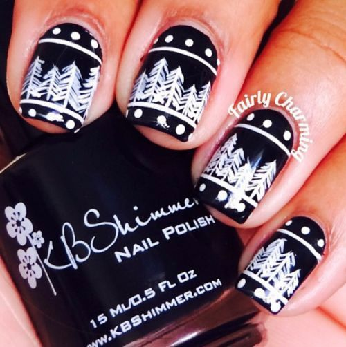 Trendy Nail Art Designs Stickers For Winter 2016 Nails Pinterest