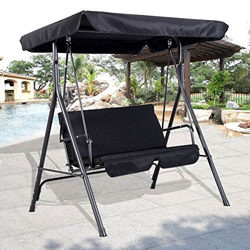 Patio Swing Outdoor Canopy Awning Yard Furniture Porch Hammock Tilt