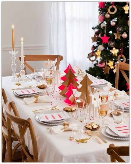 Deco table de noel les plus belles d co de table de fete de pinterest noe - Deco table noel rouge ...