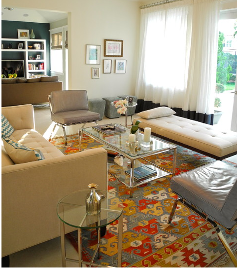 Modern Furniture Turkish Inspired Traditional Rug Modern