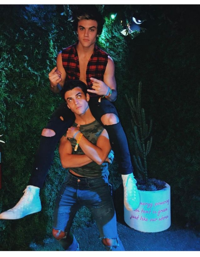 """I've always been the bigger twin so I get stuck doing the boring job."" -Grayson Dolan"