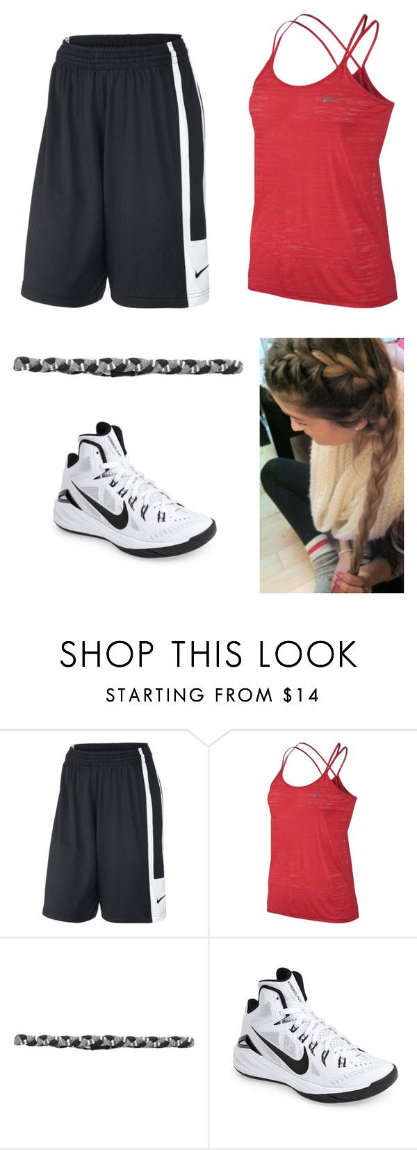 """""""Practice"""" by amanda-gail on Polyvore featuring NIKE and prAna"""