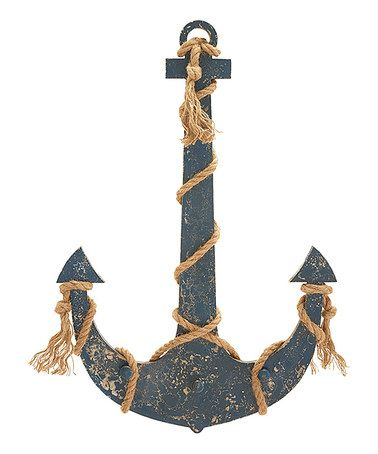 Take a look at this Decorative Wood Anchor by UMA Enterprises on #zulily today!