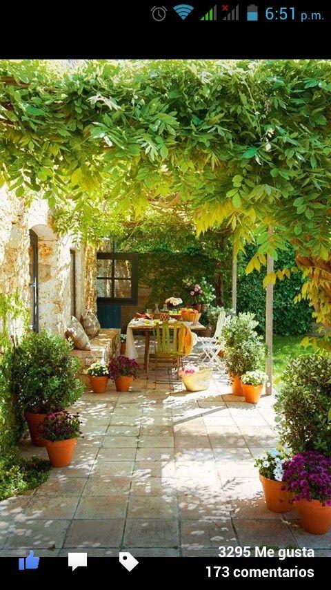 La terraza de mis sueños...