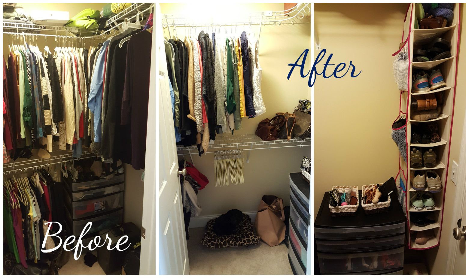 Before And After Konmari Marie Kondo Method Way Clothing