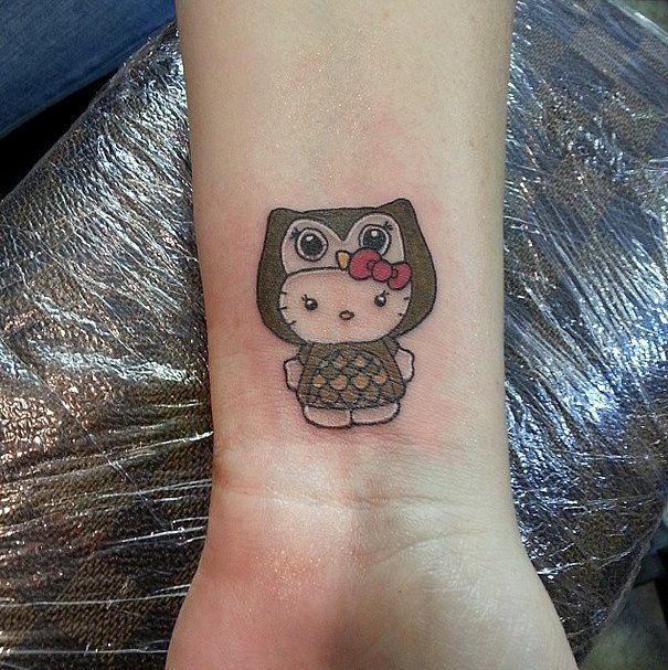the cutest most creative hello kitty tattoos hello