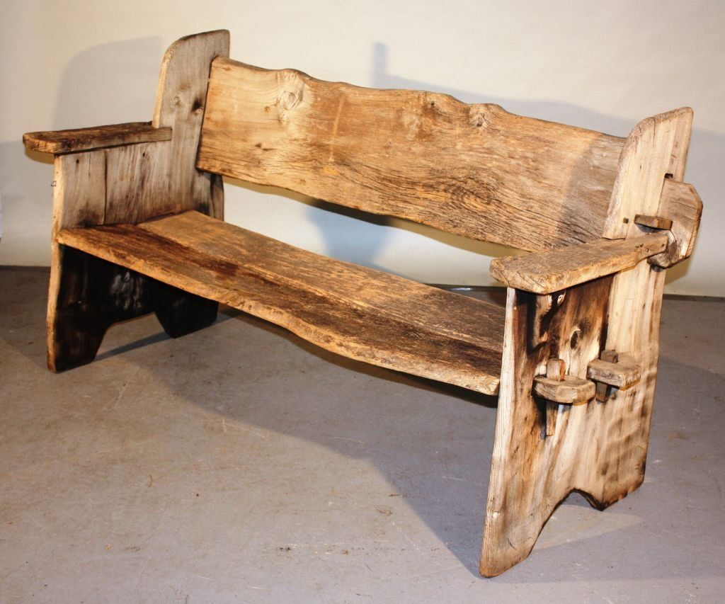 Rustic Scottish Garden Bench 2 Woodworkingbench Rustic