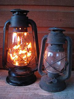 Strand Of X Mas Lights Inside A Old Lantern I Know We Have Few Lanterns That Dont Work Anymore Use Battery Operated For The In Our
