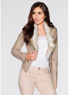 prezzo competitivo 09b27 1ebcd Giacca in similpelle, BODYFLIRT   Giacca, Moda e Stile di moda