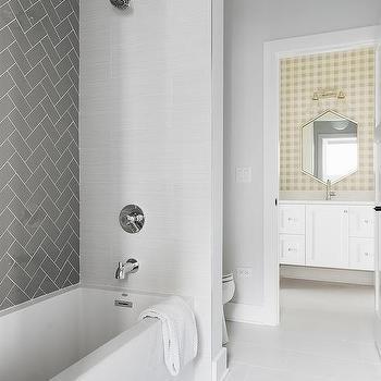 porcelain herringbone tiles design ideas | patterned wall