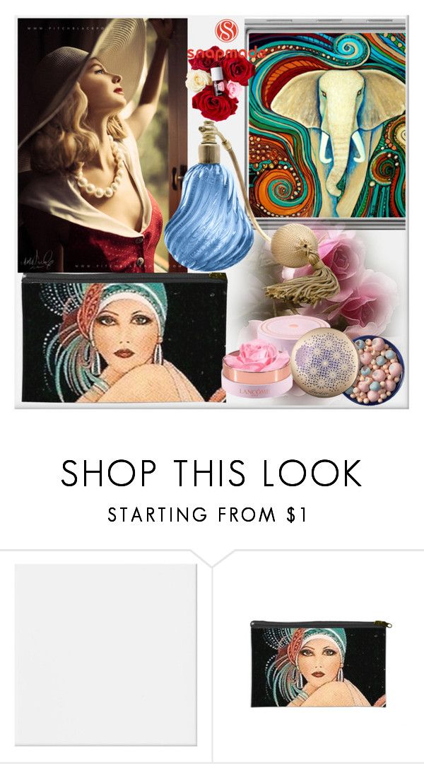 """""""SNAPMADE 7"""" by elza-345 ❤ liked on Polyvore featuring beauty and Lancôme"""