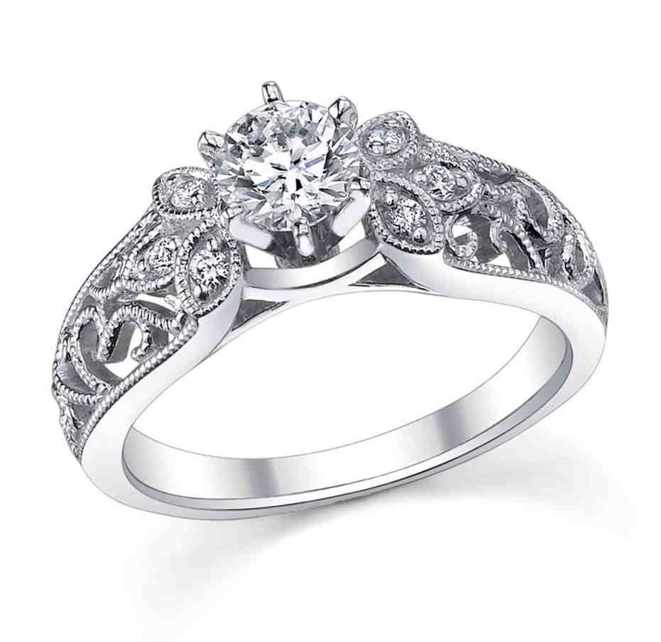 Platinum Engagement Rings For Women Wedding Rings For Women Platinum Wedding Rings Womens Rings Unique